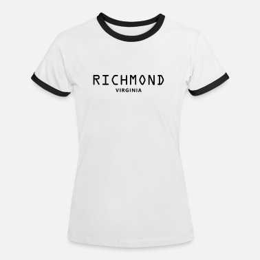 Richmond Richmond Usa - T-shirt contrasté Femme