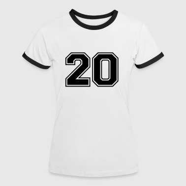 20. 20 - Women's Ringer T-Shirt