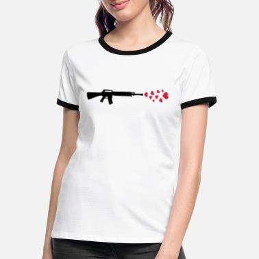 Rifle Rifle - Women's Ringer T-Shirt
