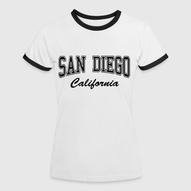 San Diego California - Women's Ringer T-Shirt