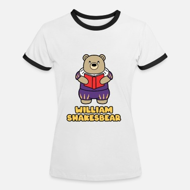 Shakespeare WILLIAM SHAKESBEAR - Frauen Ringer T-Shirt