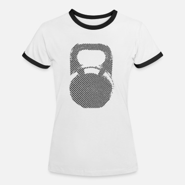 Checkerboard Kettlebell checkerboard - Frauen Ringer T-Shirt