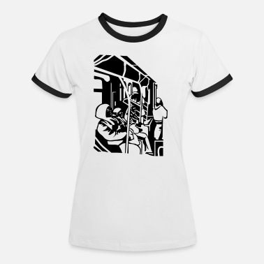 Subway subway - Women's Ringer T-Shirt