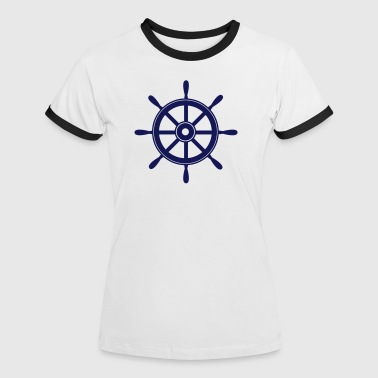 Wheels wheel - Women's Ringer T-Shirt