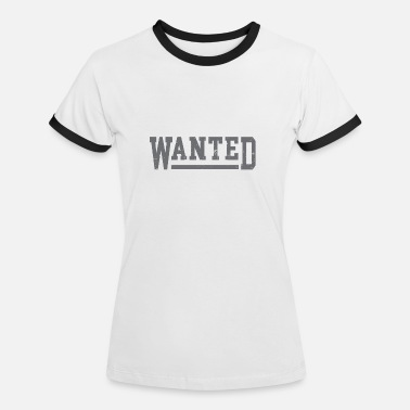 Wanted Tshirt ricercata - Maglietta contrast donna