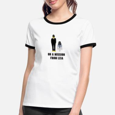 Mission On A Mission - Women's Ringer T-Shirt