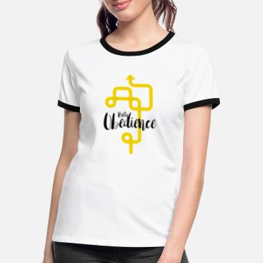 Rally Obedience Rally Obedience - Women's Ringer T-Shirt