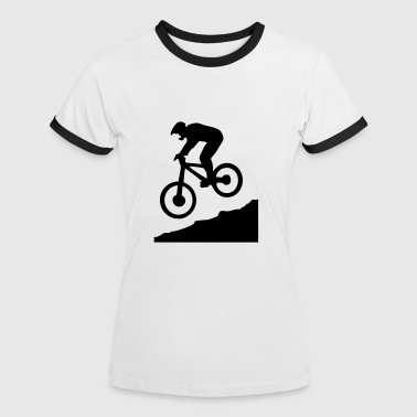 Downhill Bicicletas downhill biking - cycling - Camiseta contraste mujer
