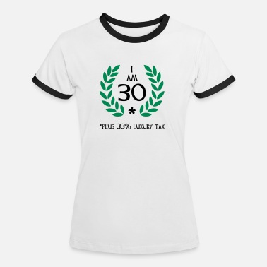 Lorbeerkranz 40 - 30 plus tax - Frauen Ringer T-Shirt
