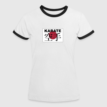 karate - Women's Ringer T-Shirt