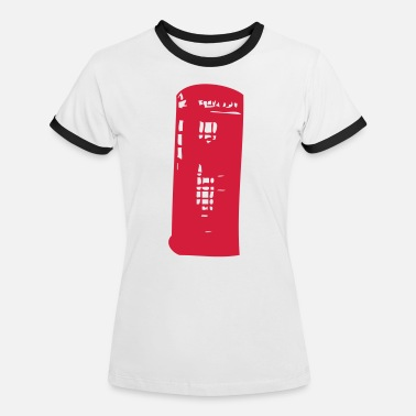 Booth English phone booth English - Women's Ringer T-Shirt