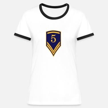 a336306a25fb9 Cadeau pour le 5ème anniversaire - 5 ans T-shirt contrasté Femme ...