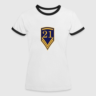 21 Gift for the 21th Birthday - 21 years - Women's Ringer T-Shirt