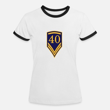 Lufthansa 40 ,1940, 2040, uniform figure, insignia, military, sports, team, birthday, old, birthday shirt, bir - T-shirt contrasté Femme
