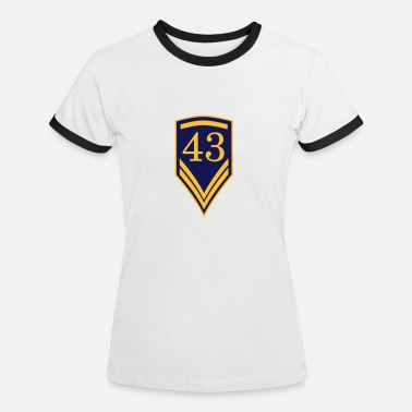 Number 43 43 - Women's Ringer T-Shirt