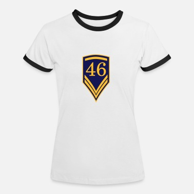 46 Birthday 46 - Women's Ringer T-Shirt