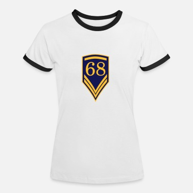 68 Birthday 68 - Women's Ringer T-Shirt