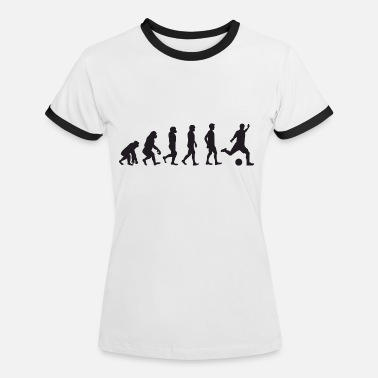 Ultras Schalke Evolution Fussball - Women's Ringer T-Shirt