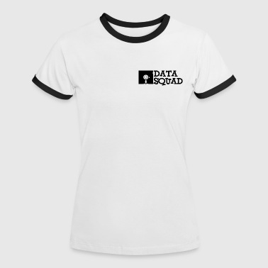 Data Squad - Frauen Kontrast-T-Shirt