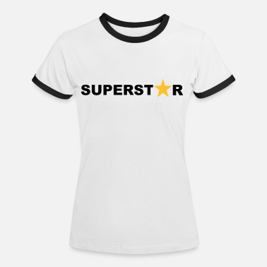 Superstar Superstar - Vrouwen ringer T-Shirt