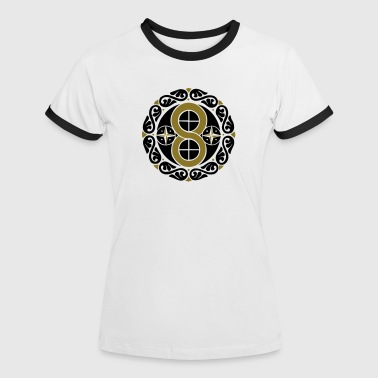 Hex Sign Kreation, Manifestation & Materialisation - Women's Ringer T-Shirt