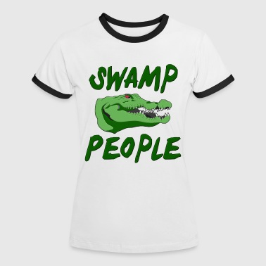 Swamp Alligators - Women's Ringer T-Shirt