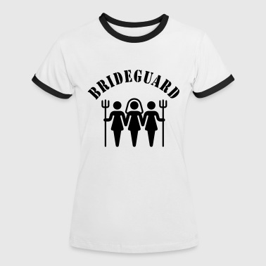 Brideguard (hen night) - Women's Ringer T-Shirt