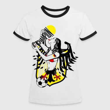 Champion - Frauen Kontrast-T-Shirt