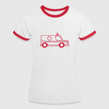 ambulance - Women's Ringer T-Shirt