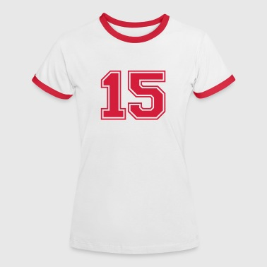 15 - Women's Ringer T-Shirt
