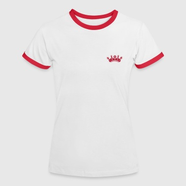 King crown - Women's Ringer T-Shirt