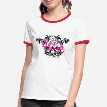 Long Beach Long Beach - Frauen Ringer T-Shirt