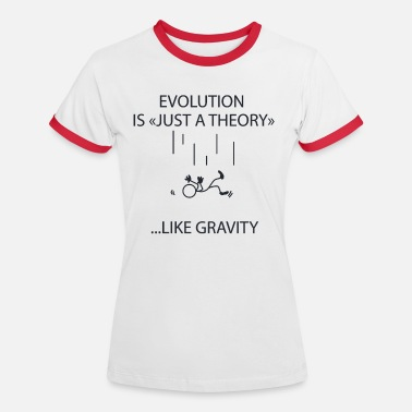 Gravity gravity - Women's Ringer T-Shirt