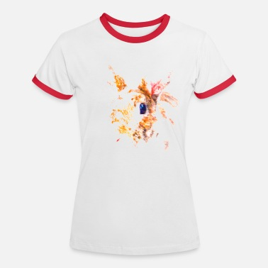 Red Sox Red Rabbit - Women's Ringer T-Shirt