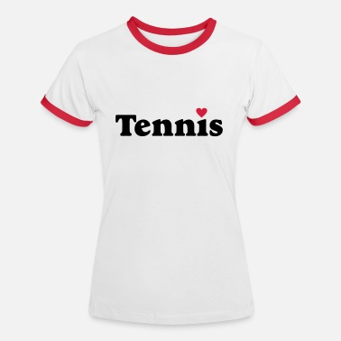Tennis - Frauen Ringer T-Shirt