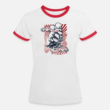 Drunken Sailor Drunken sailor - Frauen Kontrast-T-Shirt