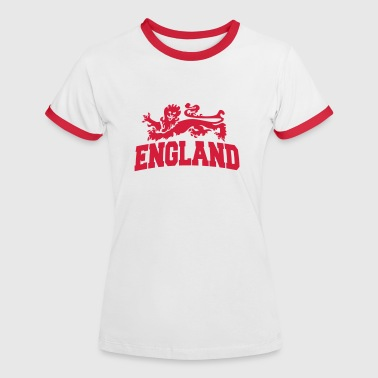 england with lion - Women's Ringer T-Shirt