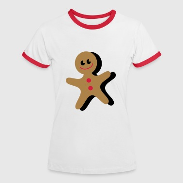 gingerbread - Women's Ringer T-Shirt
