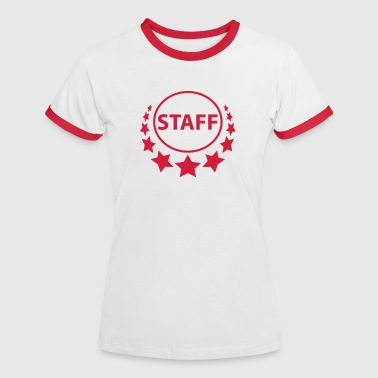 staff - Women's Ringer T-Shirt