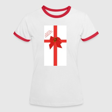 Christmas wrapping - Women's Ringer T-Shirt