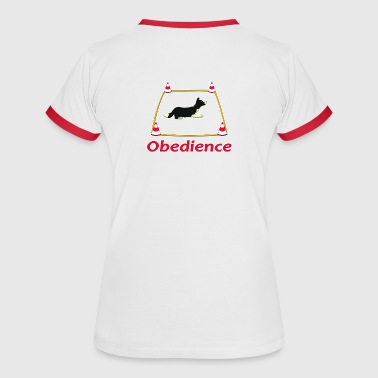 Obedience 3 Velvet - Women's Ringer T-Shirt