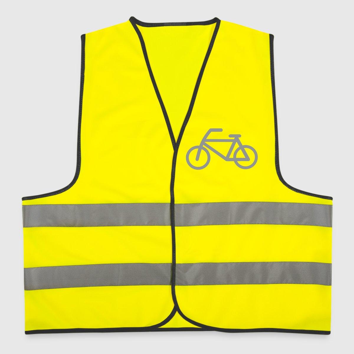 fahrrad warnweste