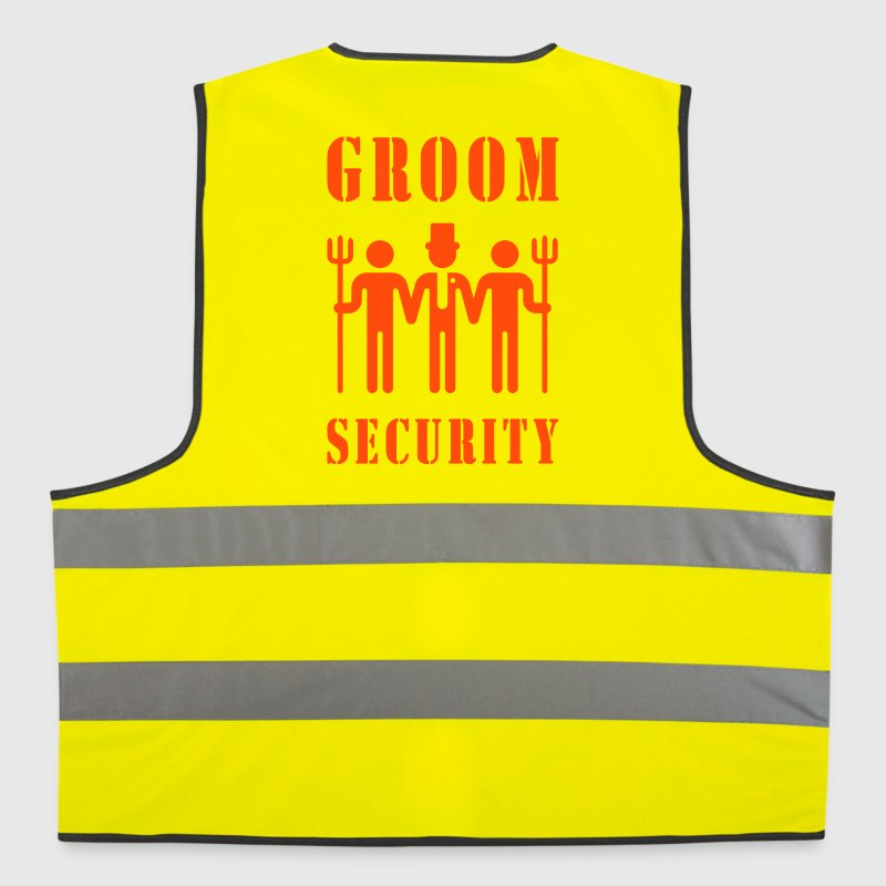 Groom Security (Bachelor Party / Stag Night) - Reflective Vest