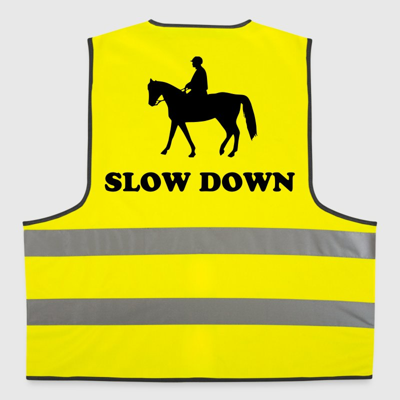 horse and rider - Reflective Vest