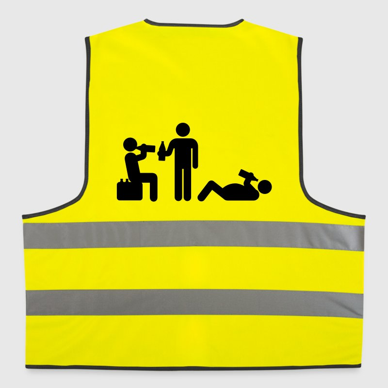 boozy alcohol vodka beer drunk drinking - Reflective Vest