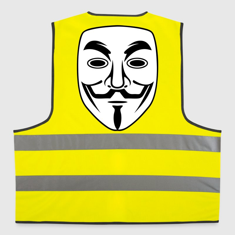 anonymous mask - Gilet de sécurité