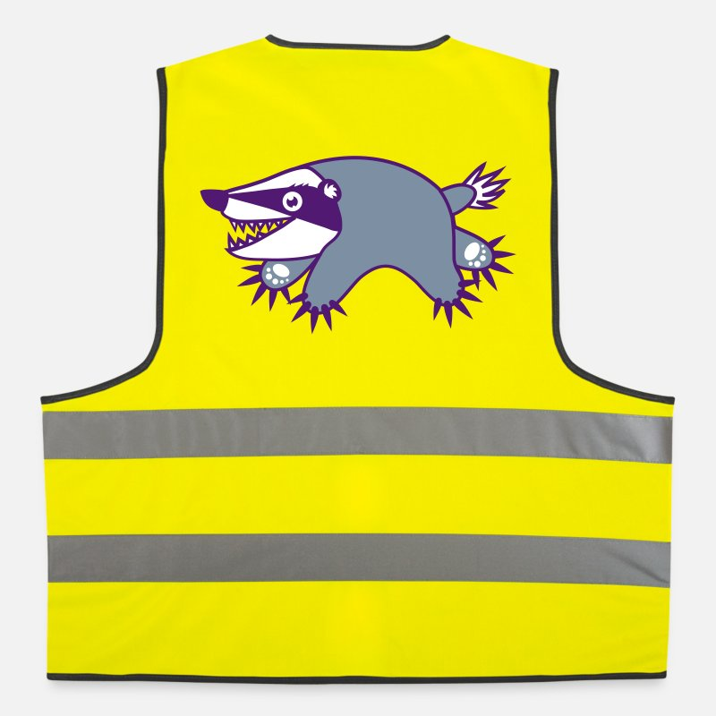Badger Jackets & Vests - badger - Reflective Vest neon yellow