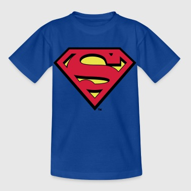 Superman Logo S-Shield - Kinder T-Shirt