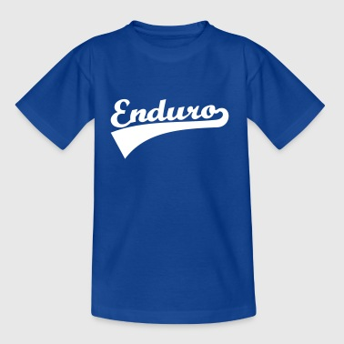 Enduro - Kinder T-Shirt