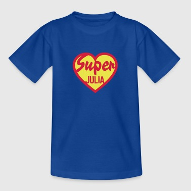 coeur heart super julia - T-shirt Enfant